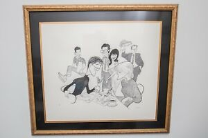 Al Hirschfeld – Caroline In The City – Signed Limited Edition Framed Lithograph