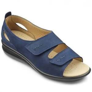 Hotter-Womens-Florence-Shoes-Navy-UK-4-5-EU37-5-STD-Fit-JS32-67