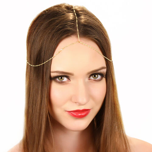 Kristin Perry Dainty Chain Grecian Headpiece Boho Hippie