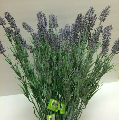 """Set of 2 LAVENDER 25/""""  FLORAL SPRAY//Farmhouse//French Country Artificial Flower"""
