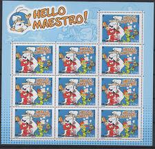 France 2017 - mini-feuillet Bloc 10 timbres Hello Maestro LUXE MNH RARE !