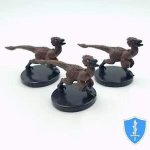 Dungeons Deep #1 Pathfinder Battles D/&D Miniature Chupacabra x3