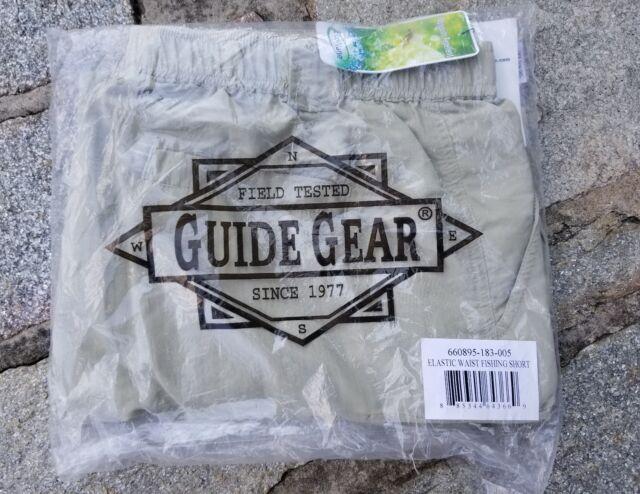 Sportsmansguide Guide Gear Mens Cargo Hiking Fishing Shorts Size 2xl