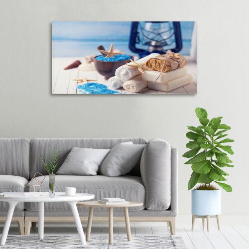 Glas-Bild Wandbilder Druck auf Glas 100x50 Deko Sonstige Spa Salz