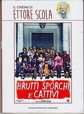 Dvd «BRUTTI SPORCHI E CATTIVI» di Ettore Scola con Nino Manfredi nuovo 1976