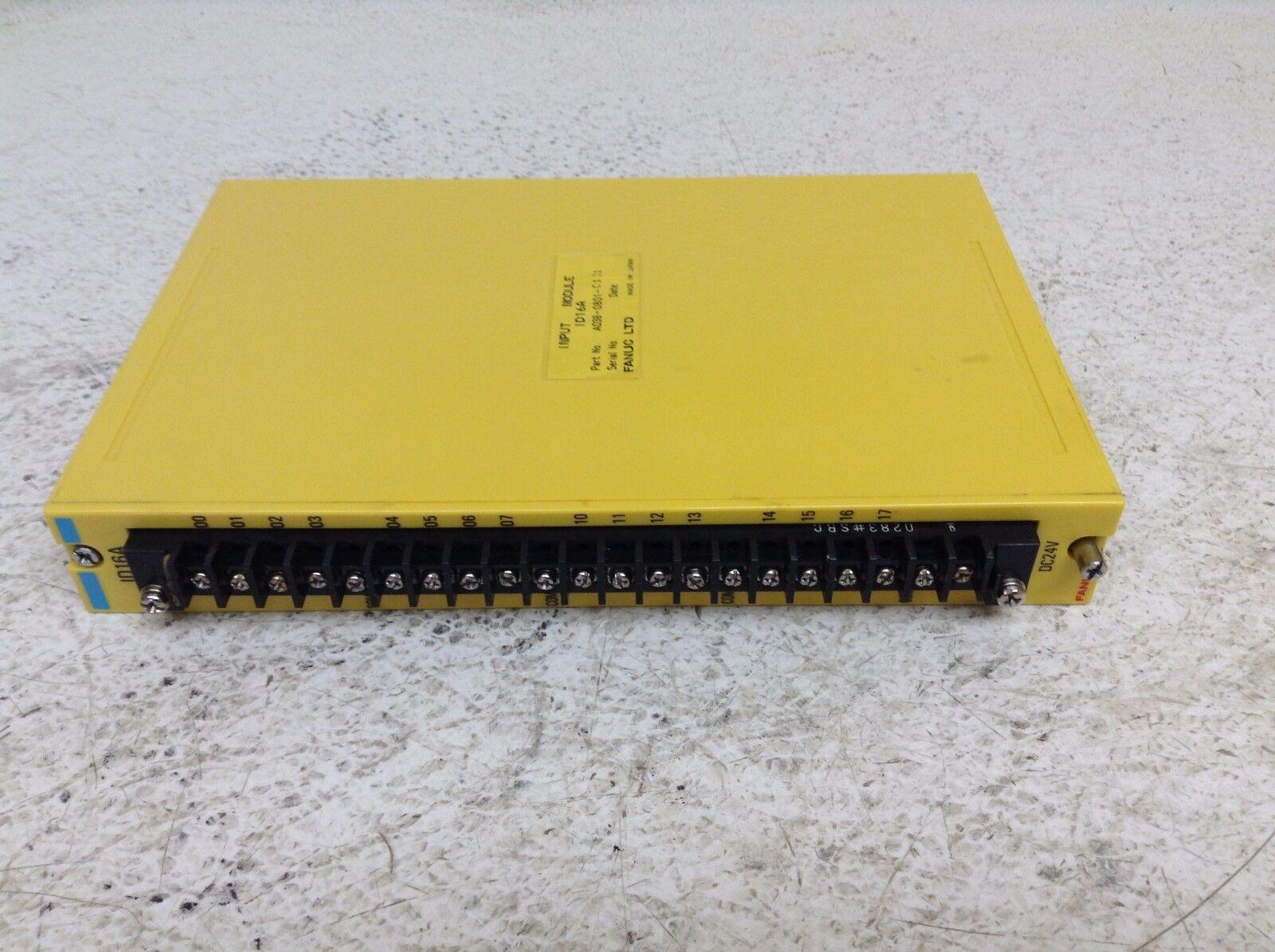 Fanuc A03B-0801-C131 ID16A Input Module A03B0801C131