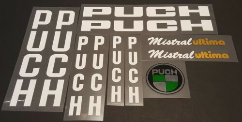 Puch Mistral Ultima Bicycle Decal Set sku Puch-S101