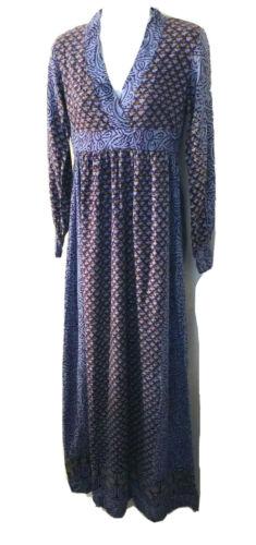 Vintage 70s India Imports of Rhode Island blue blo