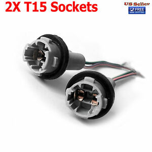 Image Is Loading Pre Wired Heavy Duty T15 912 921 Sockets
