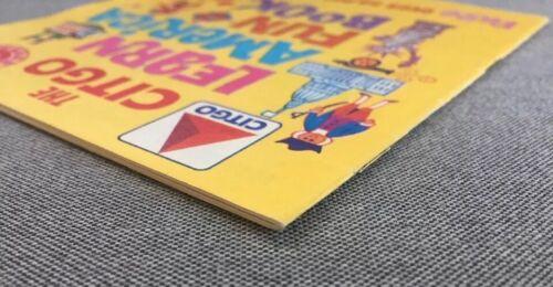 1967 City Service Company Vintage Activity Book Citgo Learn America Fun Book