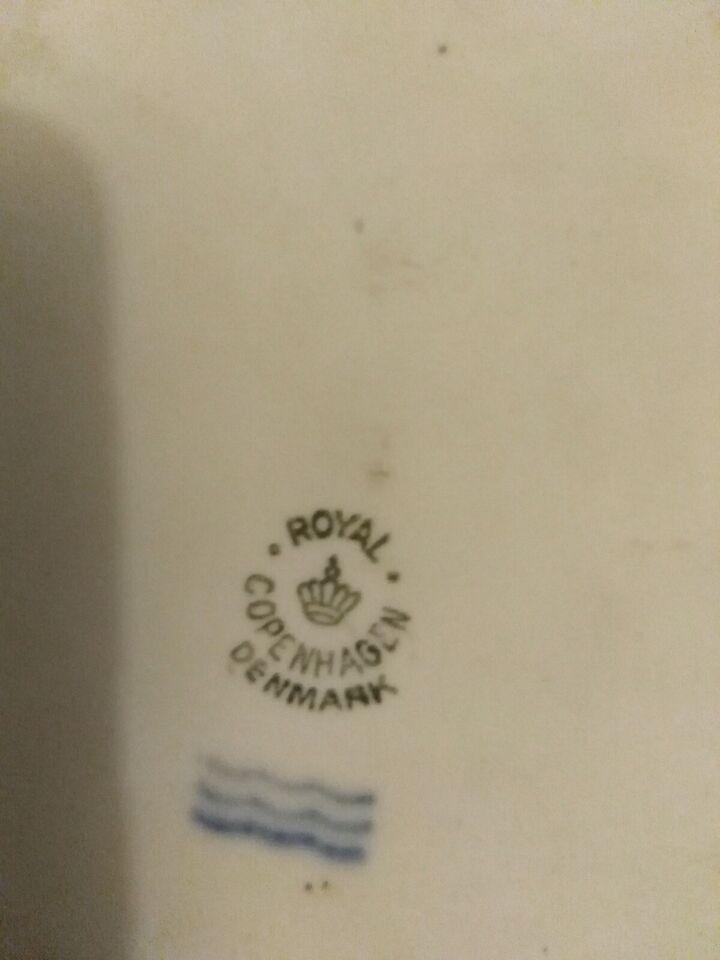 Royal Copenhagen bisquitplatte