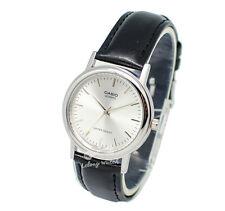 Casio Men's Core Mtp1095e-7a Black Leather Quartz Dress Watch