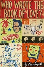 Who Wrote the Book of Love?-ExLibrary