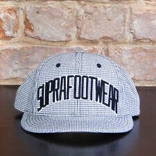 Supra Gingham Snapback Brand New Cap