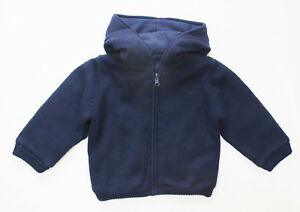 NWT-Mayoral-Baby-Boy-Hooded-Reversible-Knit-Zipper-Sweater-in-Blue-Size-9M-24M