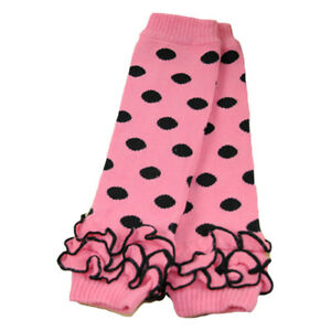 Baby Toddler Girl Polka Dots Flower Winter Warm Socks Tights Arm Leg Warmers NEW