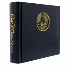 DISNEY WALT DISNEY WORLD Castle Medallion 200 Photo Album W/ Gel Pen New
