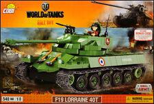 COBI F19 Lorraine 40T (3025) - 540 elem. - French medium tank