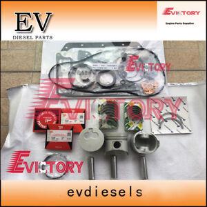 For excavator Isuzu 3KC1 3KC2 piston + piston ring set full gasket bearing  kit   eBayeBay