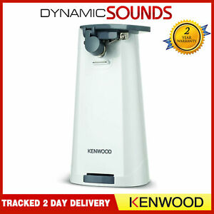 Kenwood Electric Can Tin Bottle Opener Knife Sharpener 3-in-1 CAP70.A0WH CO600