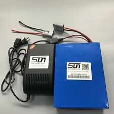 32650 24v 20ah LiFePO4 Batteries 5A Charger BMS Rechargeable Powerchairs BY UPS
