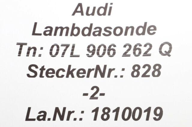 Lambdasonde Lamdasonde Regelsonde für Audi A3 A6 S6 TT 8J3 Roadster 2.5 RS