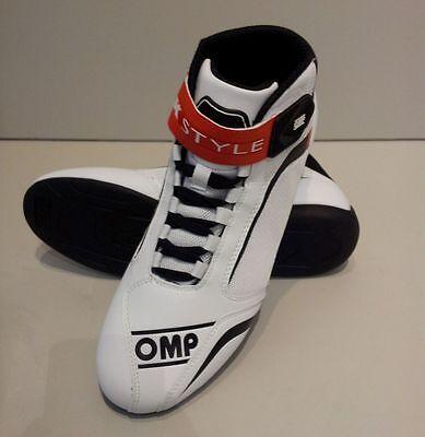 Scarpe kart Omp Racing nel racing point di