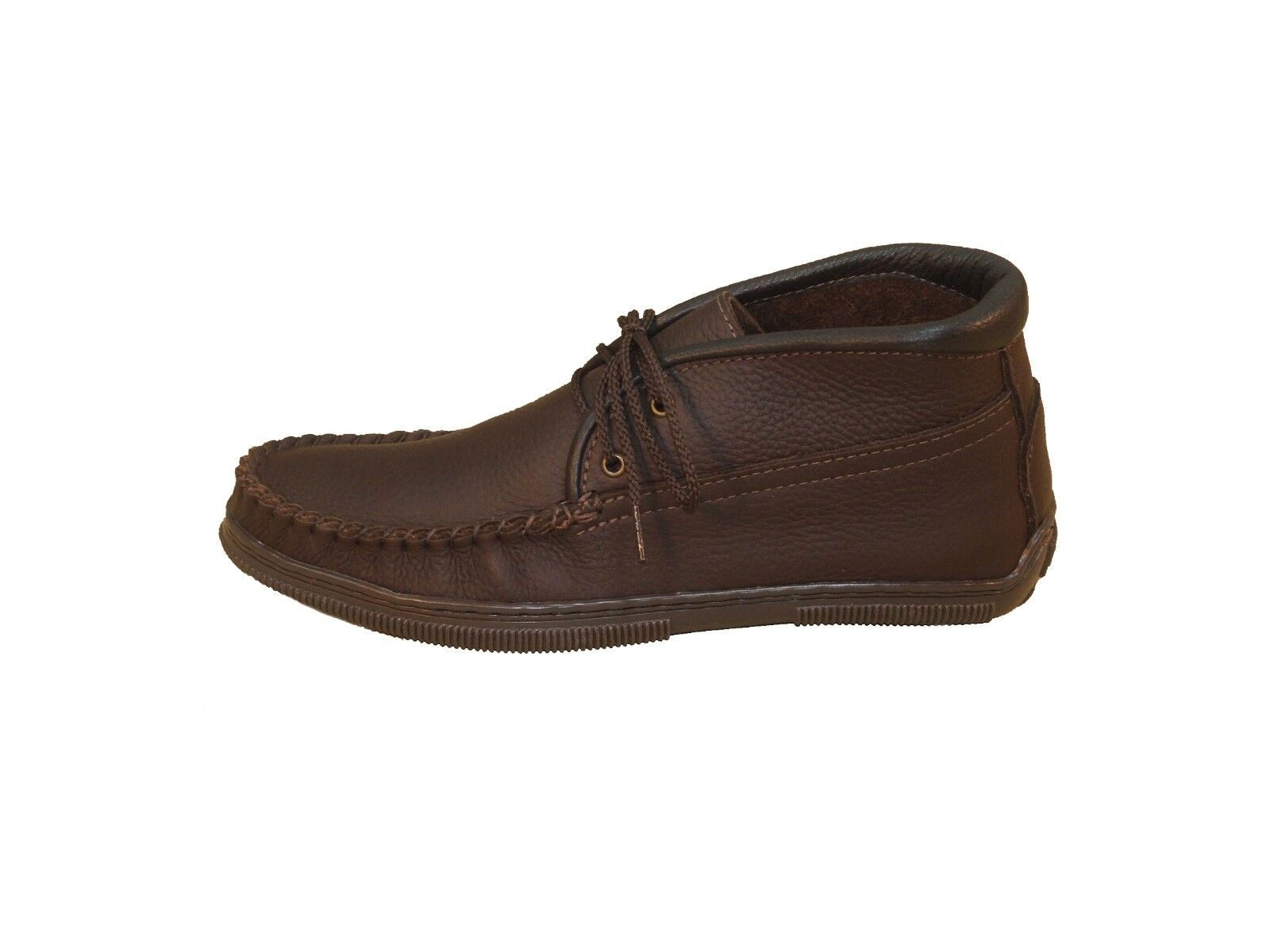 Men's Cowhide Lace-up Chukka Boots Sizes 6-13 Handmade in USA