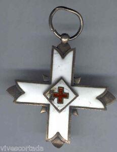 Espana-Medalla-militar-Condecoracion-Isabel-II-1836-Cruz-de-Malta