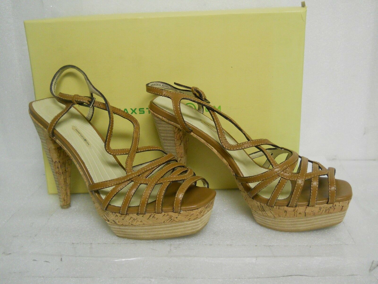 promozioni di sconto Max Studio Studio Studio New donna Rianna Light Marrone Sandals 9 M scarpe  Negozio 2018