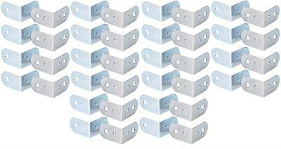 40 x L-Ecke-Ecken klein L-Winkel Stahl verzinkt 19x30 mm ADAM HALL 4041 Casebau