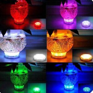 4PCs-Multi-Color-LED-COLOR-CHANGE-SUBMERSIBLE-Light-Base-Vase-Remote-Control