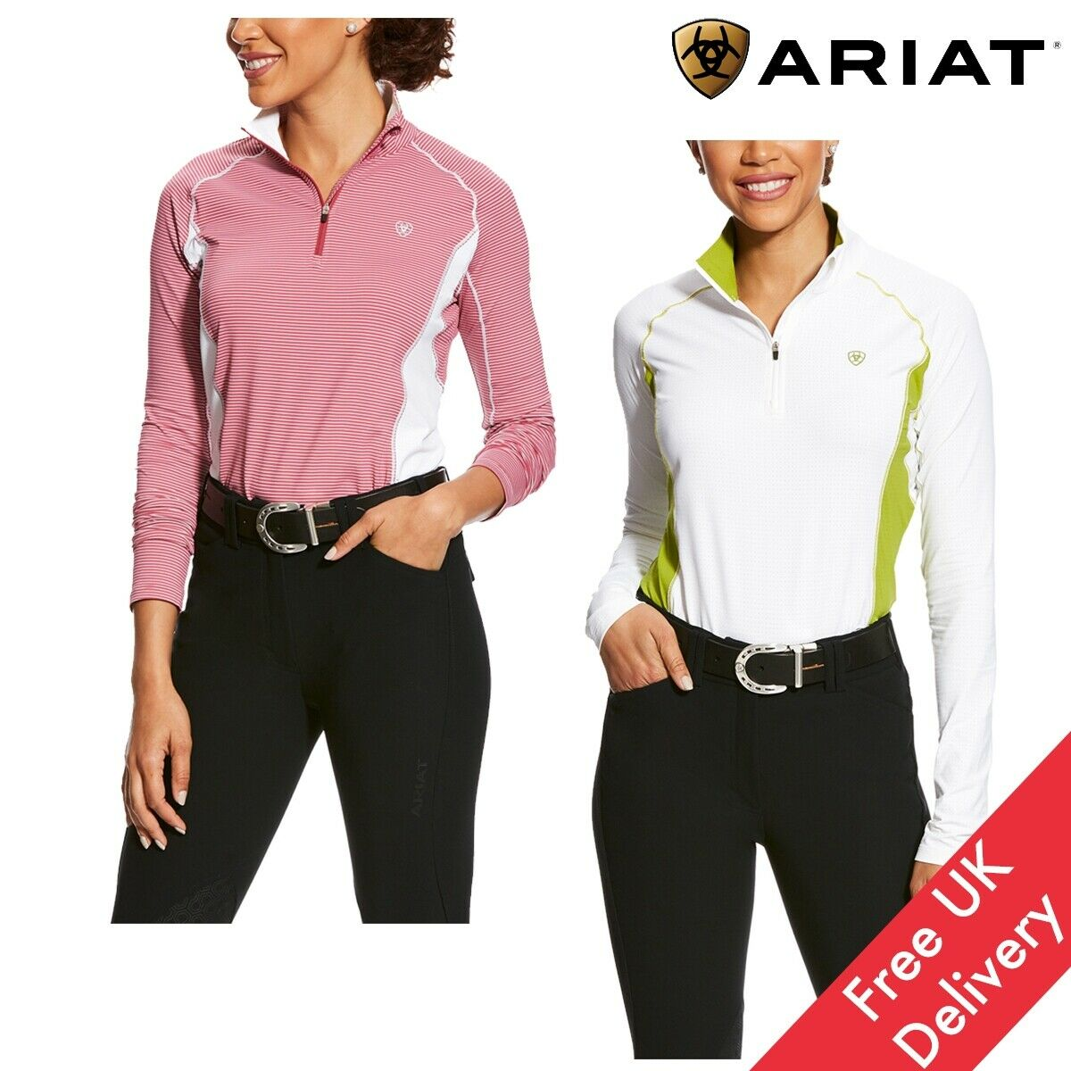Ariat Women's Tri Factor 1  4 Zip - Free UK Shipping  more discount