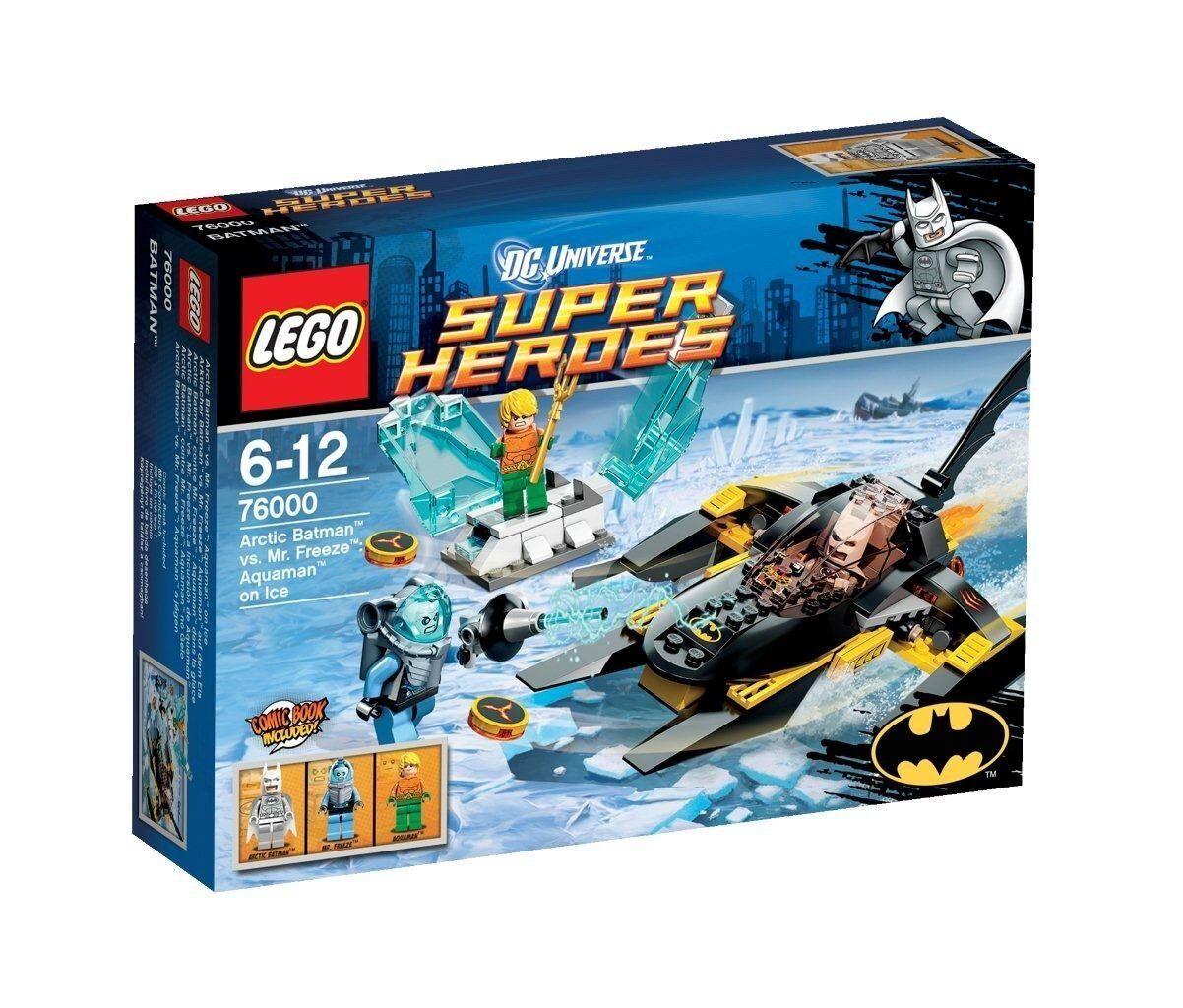 Lego DC DC DC Super Heroes Arctic Batman vs Mr Freeze 76000 RETIrot Set + Minifigures 7b8349