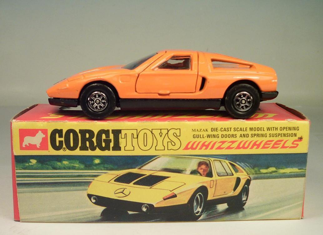 CORGI toys whizzwheels 388 MERCEDES BENZ c111 OVP  3761
