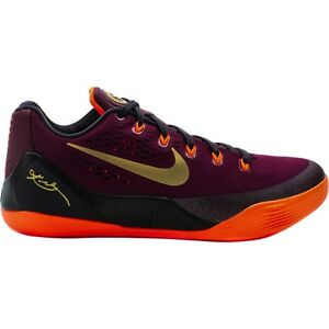2014 NIKE Kobe 9 EM Deep Garnet Mens Basketball Shoe 646701-678 Low ... 943db3980
