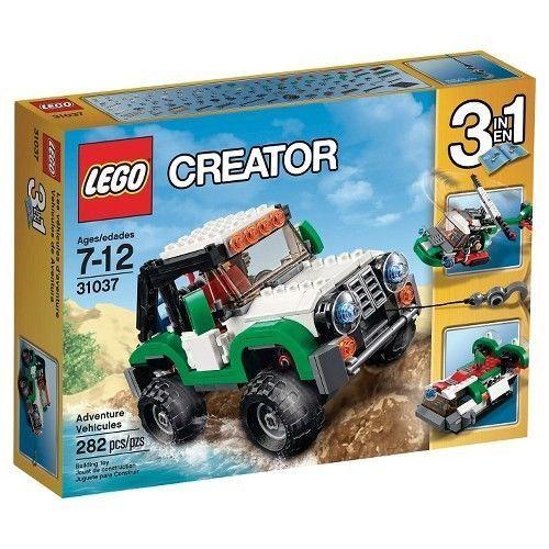 31037 ADVENTURE VEHICLES lego creator NEW 3 in 1 legos set HELICOPTER hovercraft