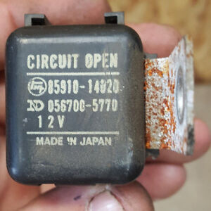 Details about 84 85 86 87 88 89 Toyota Pickup 4Runner 22RE EFI Circuit on