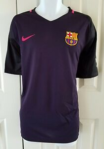 81fd22844 Image is loading NIKE-FC-BARCELONA-AUTHENTIC-MATCH-AWAY-JERSEY-2016-