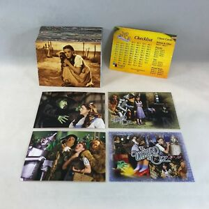 """THE WIZARD OF OZ SERIES 1 Breygent 2006 Complete /""""TOTO A LEGEND/"""" Chase Card Set"""