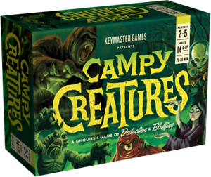 Campy Creatures, Card Game, New by Keymaster Games, English Edition