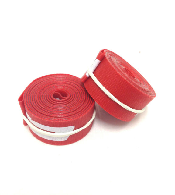 "FSA 700/"" x 17mm Rim Strips Red Nylon Box//10 road bike bicycle tape"