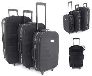ABS//PC rigide hard case valise chariot de Voyage Sac Bagage 4 Roue Valise