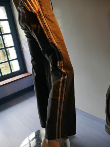 Flared Side Wide Internacional 40 Brigada New Stripes Jeans I pantaloni ZXAwqS