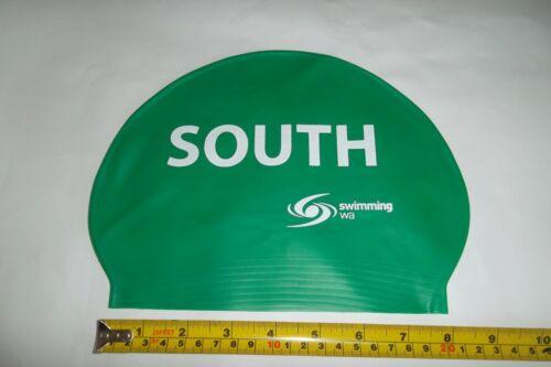 2 x SPEEDO Event Logo  Junior  SWIMMING CAPs Brand New