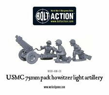 Warlord Bolt Action USMC United States Marine Corp 75mm Pack Howitzer