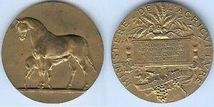 Medaille-de-table-PARIS-1932-concours-central-hippique-Abel-GARDEY-argent