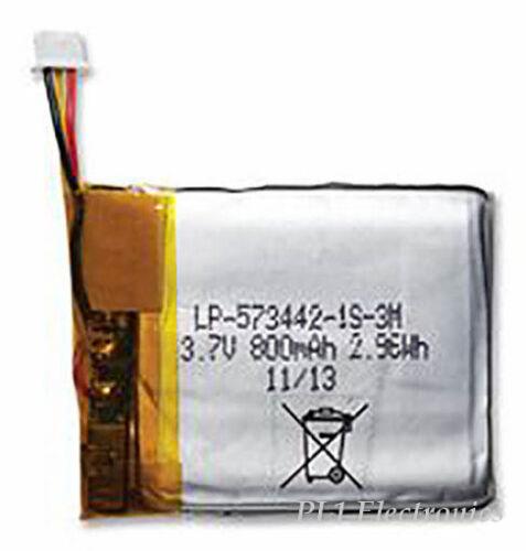 LI-POLYMER 800MAH BAK   LP-573442-1S-3   BATTERY 3.7V
