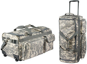 Image is loading ACU-Digital-Camouflage-Military-Expedition-Wheeled-Bag -Carry- a46df0d9b3