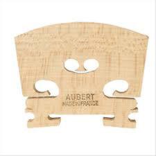 "Genuine Aubert Violin Bridge 3/4  ""Made in France"""
